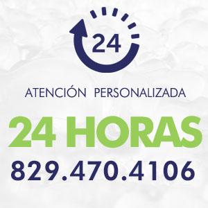 Atencion personalizada 24 horas